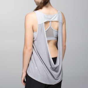 lululemon Next To Nothing Open Back Tank Top